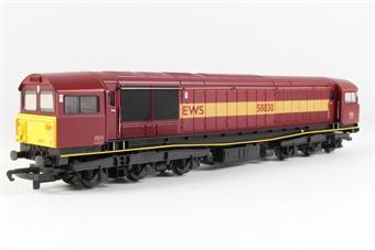 R2125A Class 58 58030 in EWS Maroon