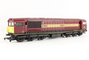 R2125B Class 58 58039 in EWS Maroon