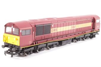 R2125C Class 58 58047 in EWS Maroon