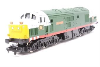 "R2128-PO04 Class 37 ""Eddie Stobart Ltd"" in Eddie Stobart livery - Limited edition for Eddie Stobart Collectors Club - Pre-owned -  imperfect box"