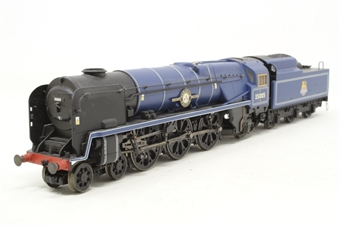 """R2171-PO16 Class 8P 'Merchant Navy' 4-6-2 35005 """"Canadian Pacific"""" in BR blue - as preserved - Pre-owned - Like new"""