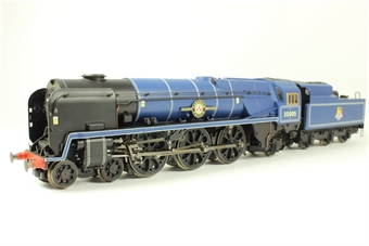 """R2171 Class 8P 'Merchant Navy' 4-6-2 35005 """"Canadian Pacific"""" in BR blue - as preserved"""