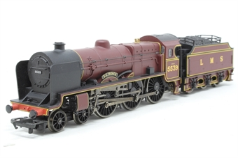 R2182A-PO02 Patriot Class 5XP 4-6-0 'E.C Trench' 5539 in LMS Maroon - Pre-owned - poor noisy runner