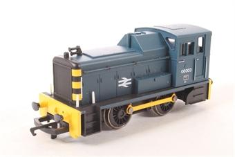 R2184 Class 06 Shunter 06003 in BR Blue