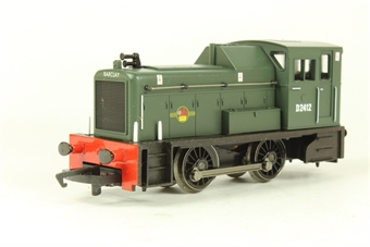 R2188 Class 06 Shunter D2412 in BR Green
