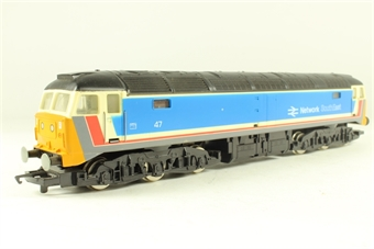 R219 Class 47 47579 'James Nightall G.C.' in NSE Livery