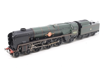 """R2204-PO08 Rebuilt Merchant Navy Class 4-6-2 35020 """"Bibby Line"""" in BR Green - Pre-owned -  Imperfect box"""