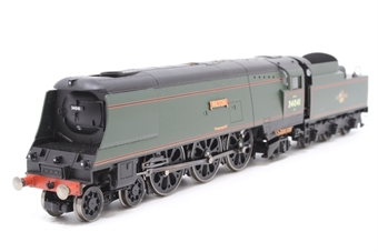 """R2218-PO22 Streamlined West Country Class 4-6-2 34041 """"Wilton"""" in BR Green - Pre-owned - Like new - imperfect box"""
