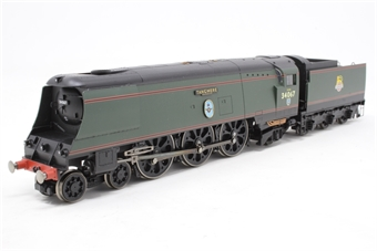 "R2221-PO11 Streamlined Battle Of Britain Class 4-6-2 34067 ""Tangmere"" in BR Green with early emblem - Pre-owned - Like new £106"