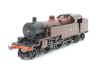 R2224-PO07 Class 4P 2-6-4T 2311 in LMS Lined Maroon - Pre-owned - sold as seen - non-runner - one damaged buffer housing - replacement box