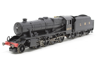 R2228-PO06 Class 8F 2-8-0 8510 in LMS black - Pre-owned - imperfect box