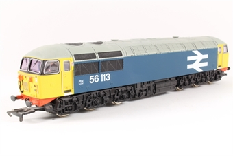 R2235B Class 56 56113 in BR Blue with large logo