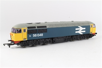 R2235C Class 56 56048 in BR Blue with large logo
