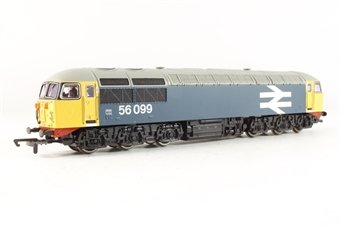 R2235D Class 56 56099 in BR Blue with large logo