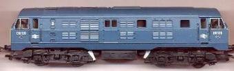 R2238B Class 29 D6137 in BR blue