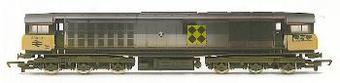 R2252A Class 58 58041 'Ratcliffe Power Station' in Railfreight Sub Sector Grey (weathered)