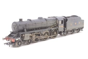 """R2258-PO06 Class 5MT """"Black 5"""" 4-6-0 4782 in LMS black with late crest - weathered - Pre-owned - Renumbered & re-livered, broken front steps"""