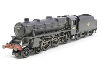 "R2258-PO14 Class 5MT ""Black 5"" 4-6-0 44781 in BR black with late crest - weathered - Pre-owned - DCC Sound-fitted, inconsistent runner"