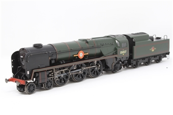 """R2268-PO01 Merchant Navy 4-6-2 35027 """"Port Line"""" in BR green - Pre-owned - Missing whistle"""