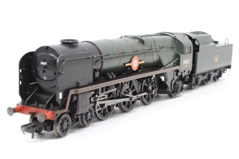 "R2268-PO10 Merchant Navy 4-6-2 35027 ""Port Line"" in BR green - Pre-owned - Like new - imperfect box"