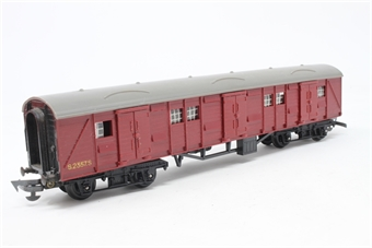 R227-Maroon-PO04 B.R Utility Van (Maroon) S2357S - Pre-owned - Like new - Imperfect box