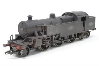 R2287-PO08 Class 4P 2-6-4T 42322 in BR black with late logo (weathered) - Pre-owned - Body loose from chassis, imperfect box £52