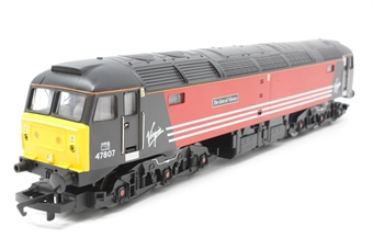 R2289A-PO02 Class 47 47807 'The Lion of Vienna' in Virgin Livery - Pre-owned - imperfect box