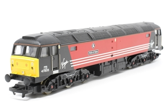 R2289E-PO01 Class 47 47805 'Pride Of Toton' in Virgin Livery - Pre-owned - Like new, Imperfect box