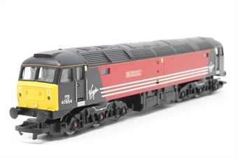R2289G-PO01 Class 47 47854 'Womens Royal Voluntary Service' in Virgin Livery - Pre-owned - Like new - imperfect box
