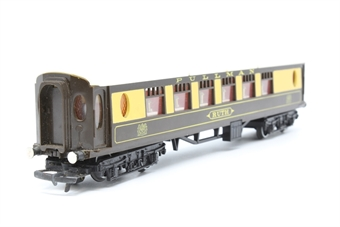 R228A-PO09 Pullman 1st Class Car Ruth - Pre-owned - marks on body and roof - missing buffer- detailed with added passengers and painted buffers- replacement box