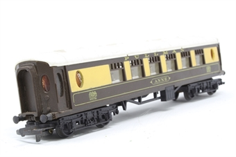 R228PullmanAnne-PO05 Pullman 1st class car with seats ANNE - Pre-owned - Marks on roof and body sides, axles missaligned, replacement box