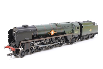 """R2310-PO05 Rebuilt Merchant Navy class 4-6-2 35016 """"Elders Fyffes"""" & tender in BR green with late crest - Pre-owned - Like new - imperfect box"""