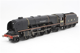 "R2311-PO04 Duchess Class 4-6-2 6242 ""City of Glasgow"" in LMS black - Pre-owned - imperfect box"