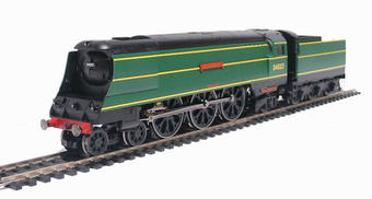 """R2315 West Country Class 4-6-2 34037 """"Clovelly"""" in BR Green"""