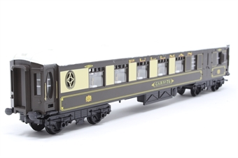 R233-PO44 Pullman 3rd Class Parlour Brake Coach Car No 77 - Pre-owned - renumbered, repainted roof, missing one coupling