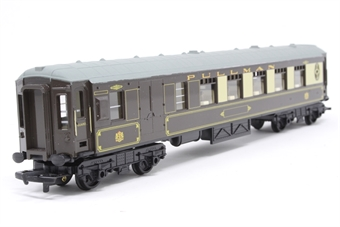 R233-PO46 Pullman 3rd Class Parlour Brake Coach Car - Pre-owned - repainted roof, imperfect box