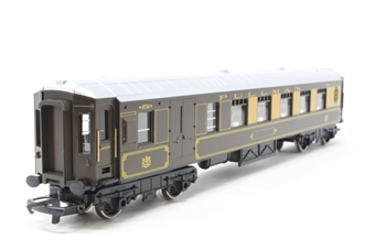 R233-PO64 Pullman 3rd Class Parlour Brake Coach Car No 78 - Pre-owned - number removed