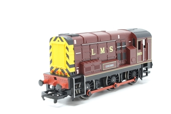 R2334-PO03 Class 08 Shunter 3973 'Concorde' in LMS Maroon - Pre-owned -  imperfect box