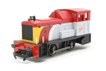 R2375-PO26 Class 06 Shunter in Virgin Trains livery - Collectors club limited edition - Pre-owned - Like new