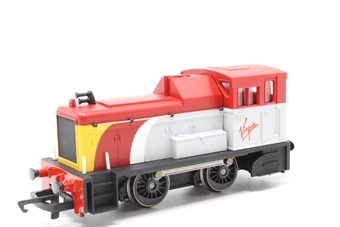 R2375-PO30 Class 06 Shunter in Virgin Trains livery - Collectors club limited edition - Pre-owned - imperfect box