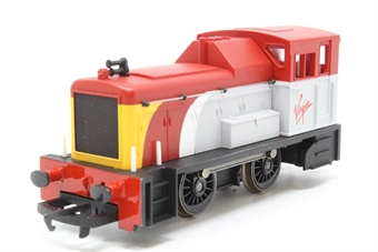R2375-PO31 Class 06 Shunter in Virgin Trains livery - Collectors club limited edition - Pre-owned - imperfect box
