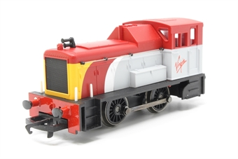 R2375-PO34 Class 06 Shunter in Virgin Trains livery - Collectors club limited edition - Pre-owned -  imperfect box