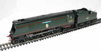 "R2385 Battle of Britain Class 4-6-2 34051 ""Winston Churchill"" in BR Green"