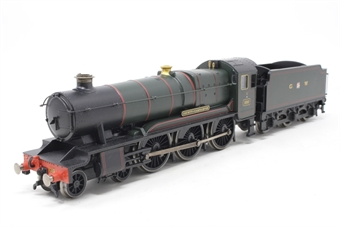 "R2391-PO08 County Class 4-6-0 1010 ""County of Carnarvon"" in GWR Brunswick Green - Pre-owned - Like new"