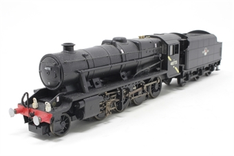R2393-PO04 Class 8F 2-8-0 48773 in BR Black - Pre-owned - detailed with added lamps and crew- noisy runner-  imperfect box