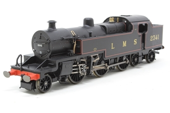 R2397-PO02 Class 4P 2-6-4 2341 Fowler tank in LMS Lined Black - Pre-owned - imperfect box