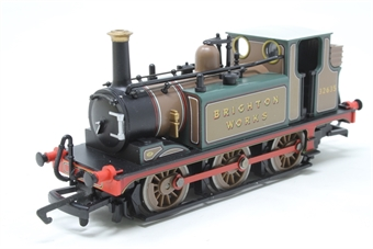 "R2406-PO07 AIX class 0-6-0 32635 ""Brighton Works"" Terrier tank in full Stroutley yellow - Pre-owned - Like new, imperfect box £65"