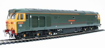 R2408 Class 50 50007 'Sir Edward Elgar' in GWR 150 style green