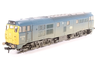 R2413-PO02 Class 31 31270 in BR blue (weathered) - Pre-owned - DCC Sound fitted- running issues and body damage due to chassis expansion