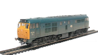 R2413A Class 31 31174 in BR blue (weathered)